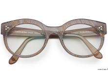 glasses Sashee Schuster Berta Grauer Strauss / Grey Ostrich CHARLOTTE KRAUSS