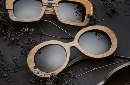 4SEE Label Profiler PRADA Raw wood sunglasses, photographed by Bert Spangemacher