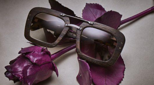 4SEE Label Profiler PRADA Raw wood sunglasses, photographed by Bert Spangemacher