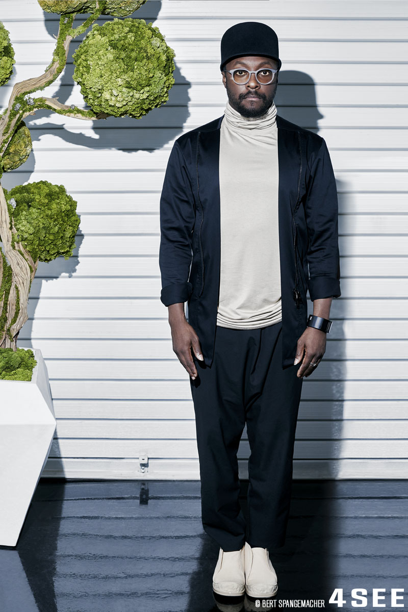 4SEE Interview with will.i.am, at his LA studio, photographed by Bert Spangemacher