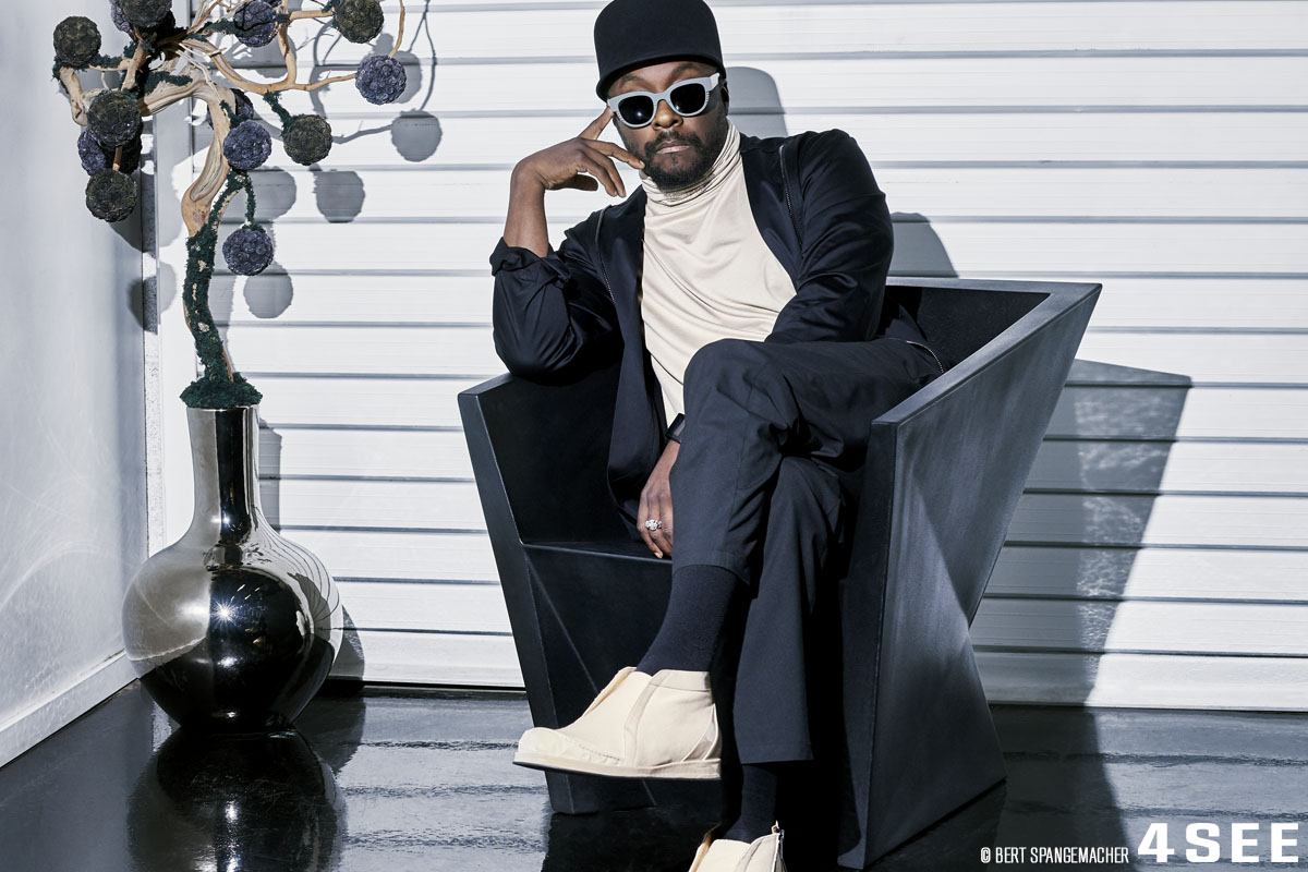 will.i.am. photographed by Bert Spangemacher