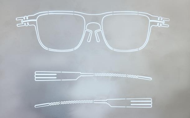 ic! berlin eyewear detailed shot