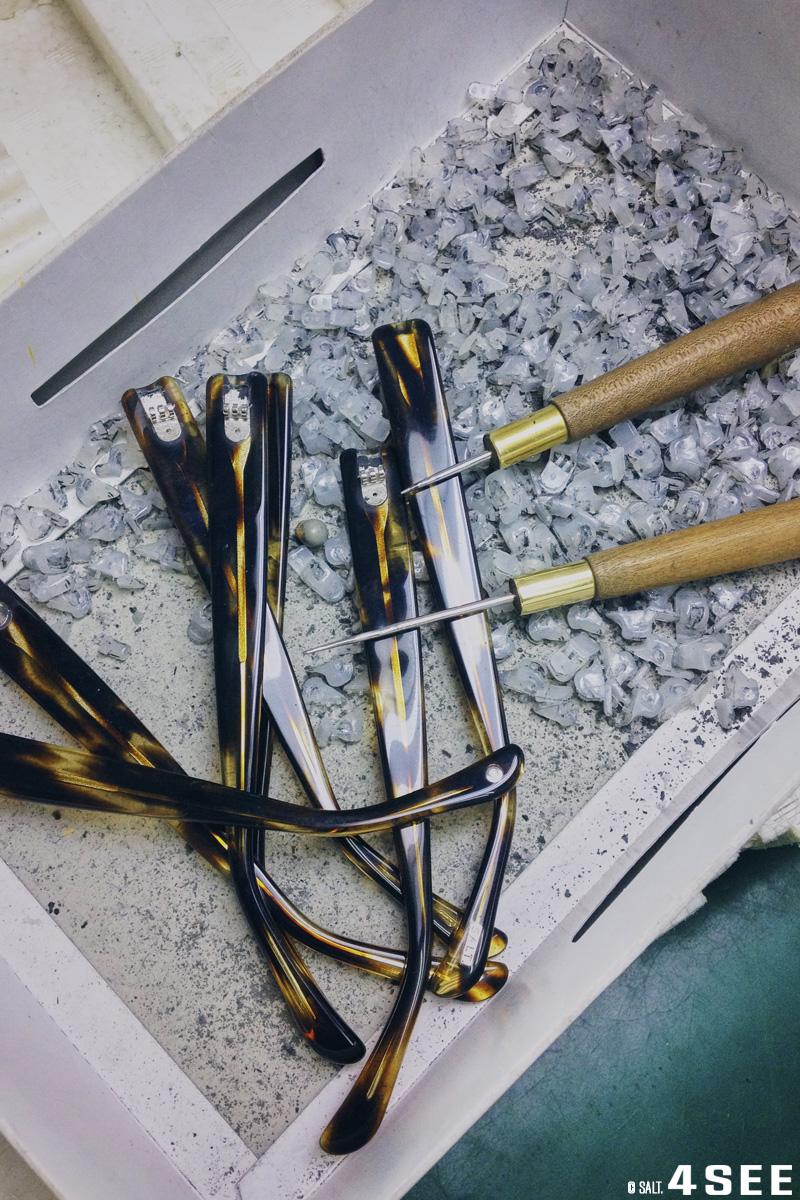 4SEE Fine Craftsmanship - SALT: All handmade, SALT. manufacturing takes place in Japan