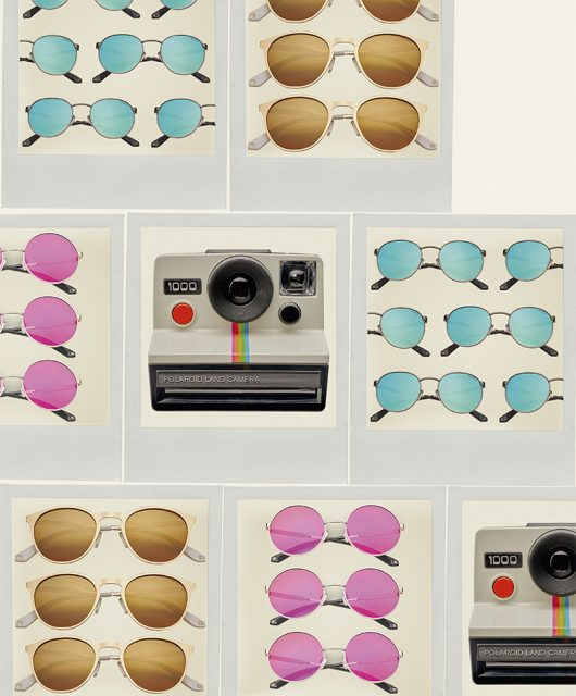 polaroid sunglasses photographed by bert spangemacher 1