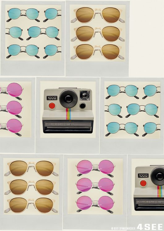 polaroid sunglasses photographed by bert spangemacher 1
