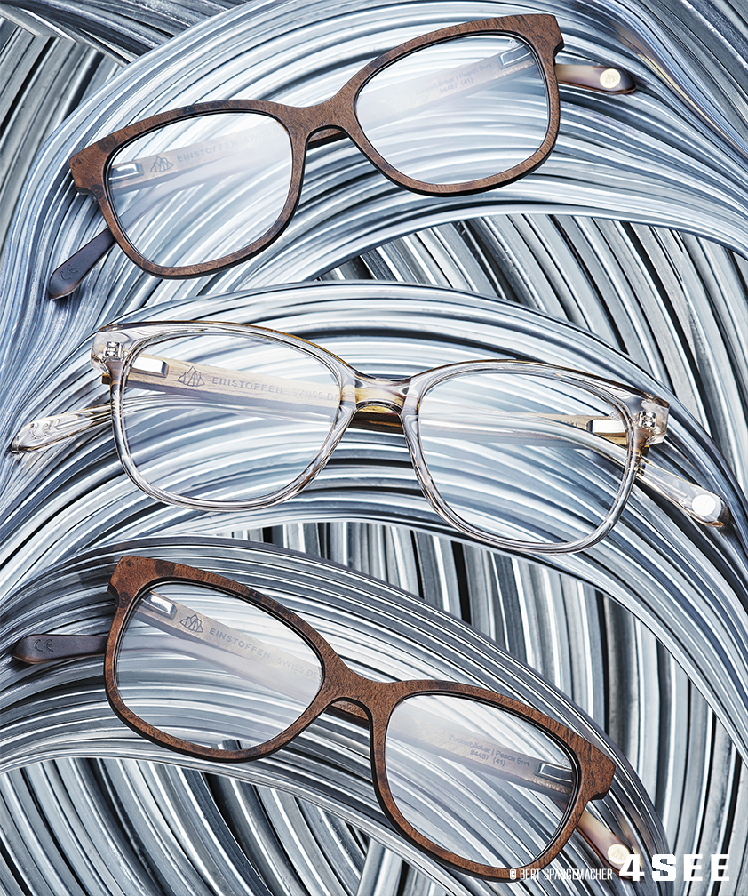 Swiss Eyewear Brand EINSTOFFEN optical glasses - ZUCKERBÄCKER