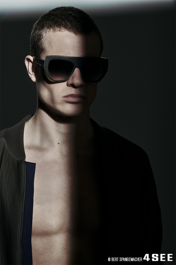Sunglasses by HOFFMANN NATURAL EYEWEAR - DESIGN BY RALPH VAESSEN OCKER STH10-H10 Jacket by Arys