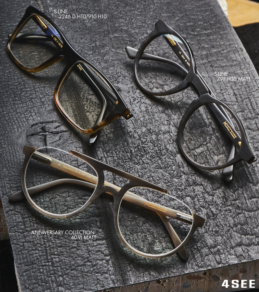 German natural eyewear HOFFMANN's optical glasses for 4SEE magazine