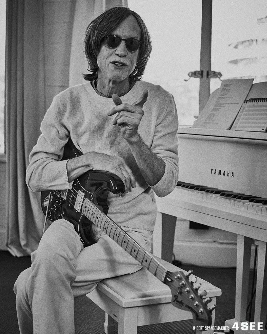 Glen Ballard at his LA studio, photographed by Bert Spangemacher
