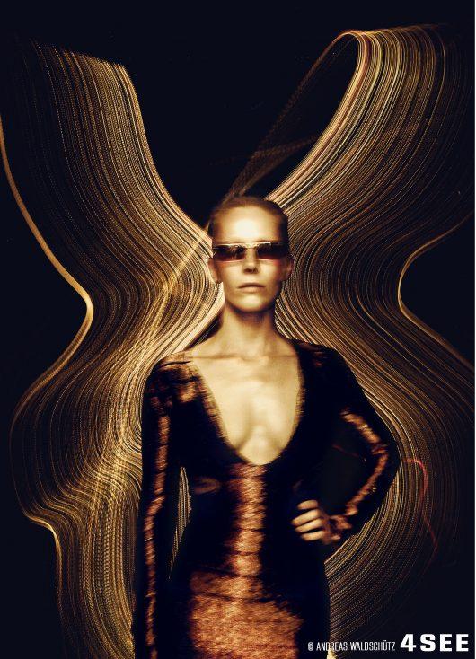 Susanne Wuest Sunglasses by VOGUE EYEWEAR VO4106-S Lightspeed Yellow Andreas Waldschutz