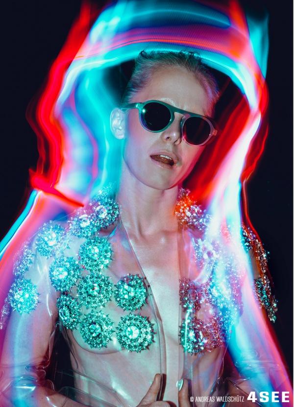Susanne Wuest Sunglasses by XAVIER GARCIA Orujo Andreas Waldschutz