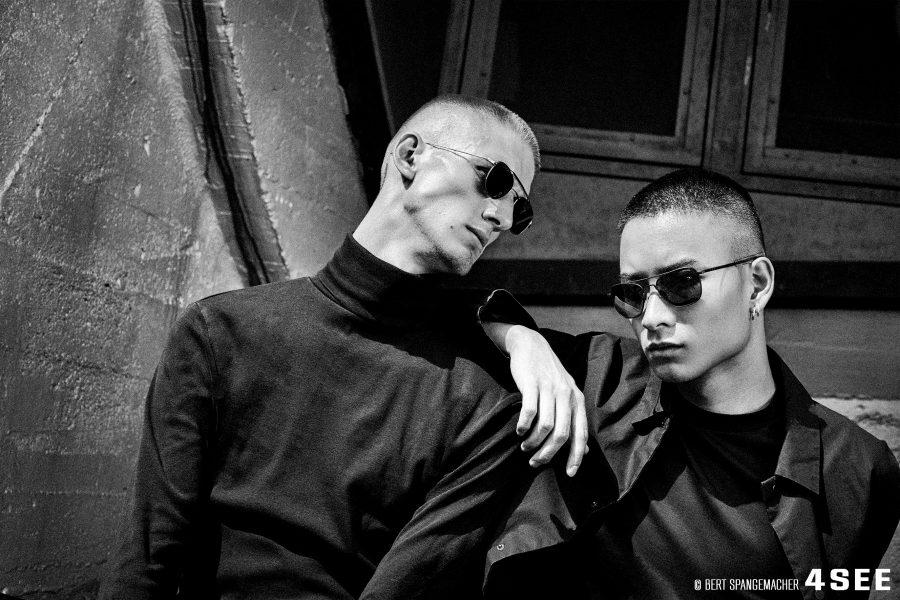 Minh Jonh models sunglasses Bert Spangemacher