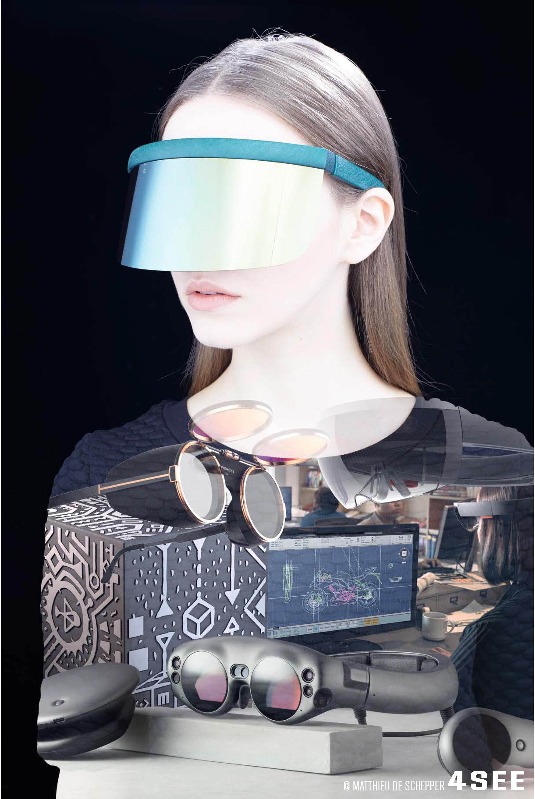 4SEE Opinion - Eyes on the Future, photo by Bert Spangemacher, artwork by Matthieu de Schepper