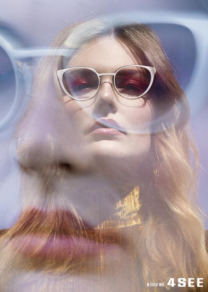 Sina model Glasses by BLACKFIN BONITA BAY Katia Wik