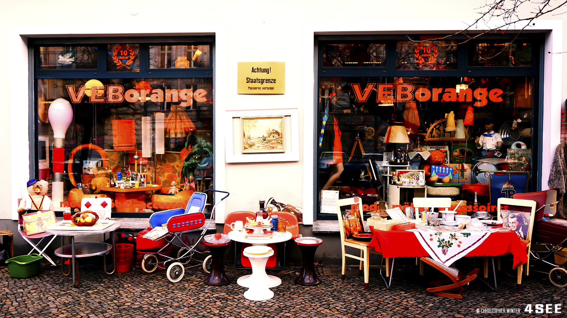 VEB Orange - Vintage DDR shop