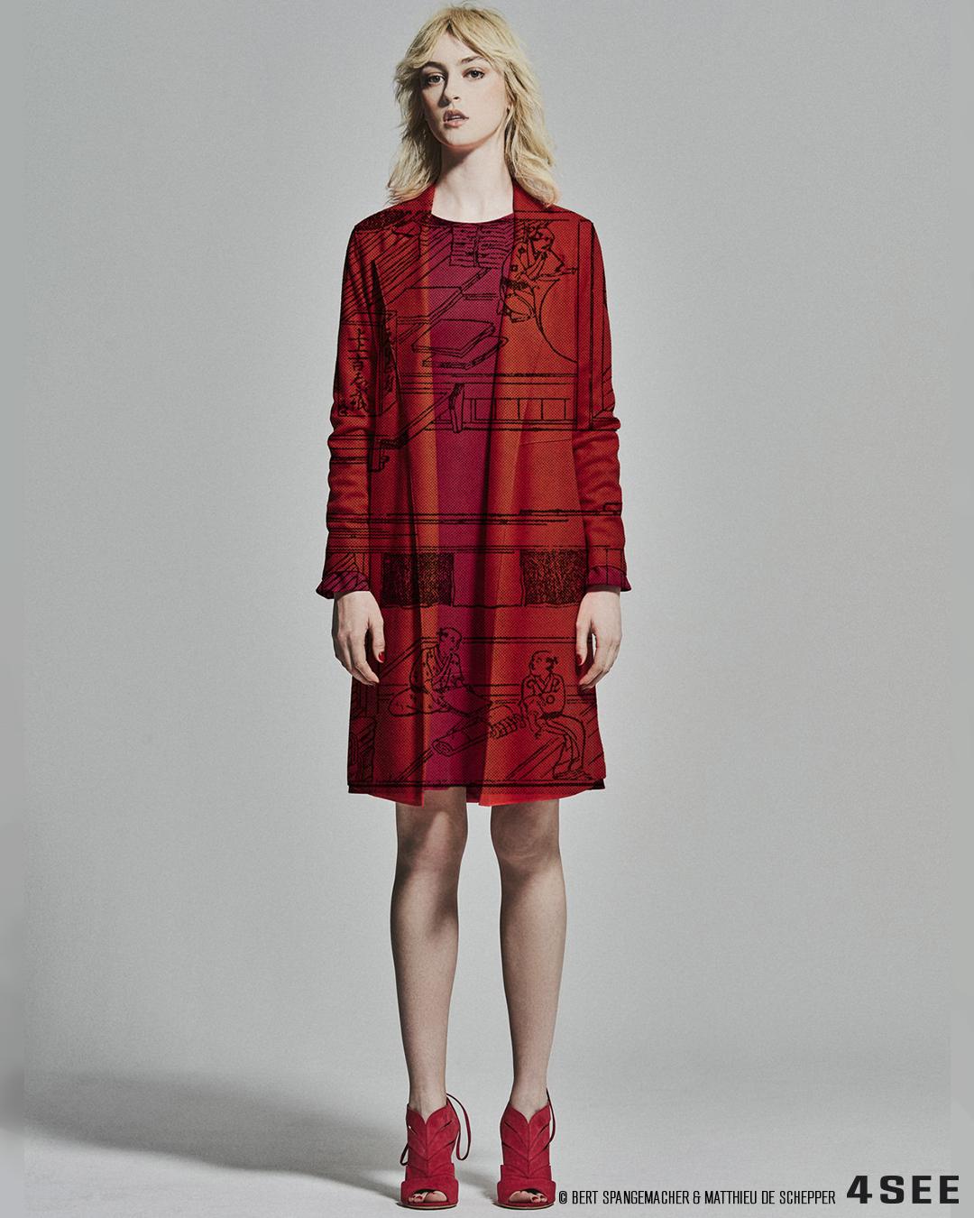 4SEE Opinion - Authentic Fashion Experiences // Photography Bert Spangemacher // Artwork Matthieu de Schepper