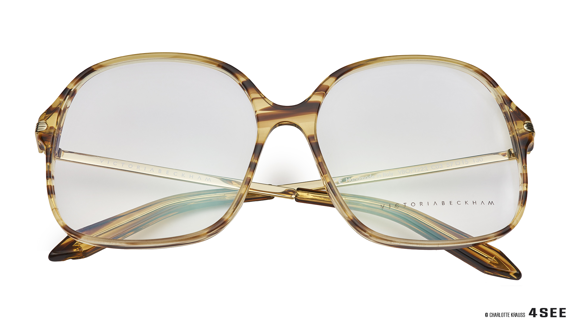 glasses Victoria Beckham Fine Optical Square CHARLOTTE KRAUSS