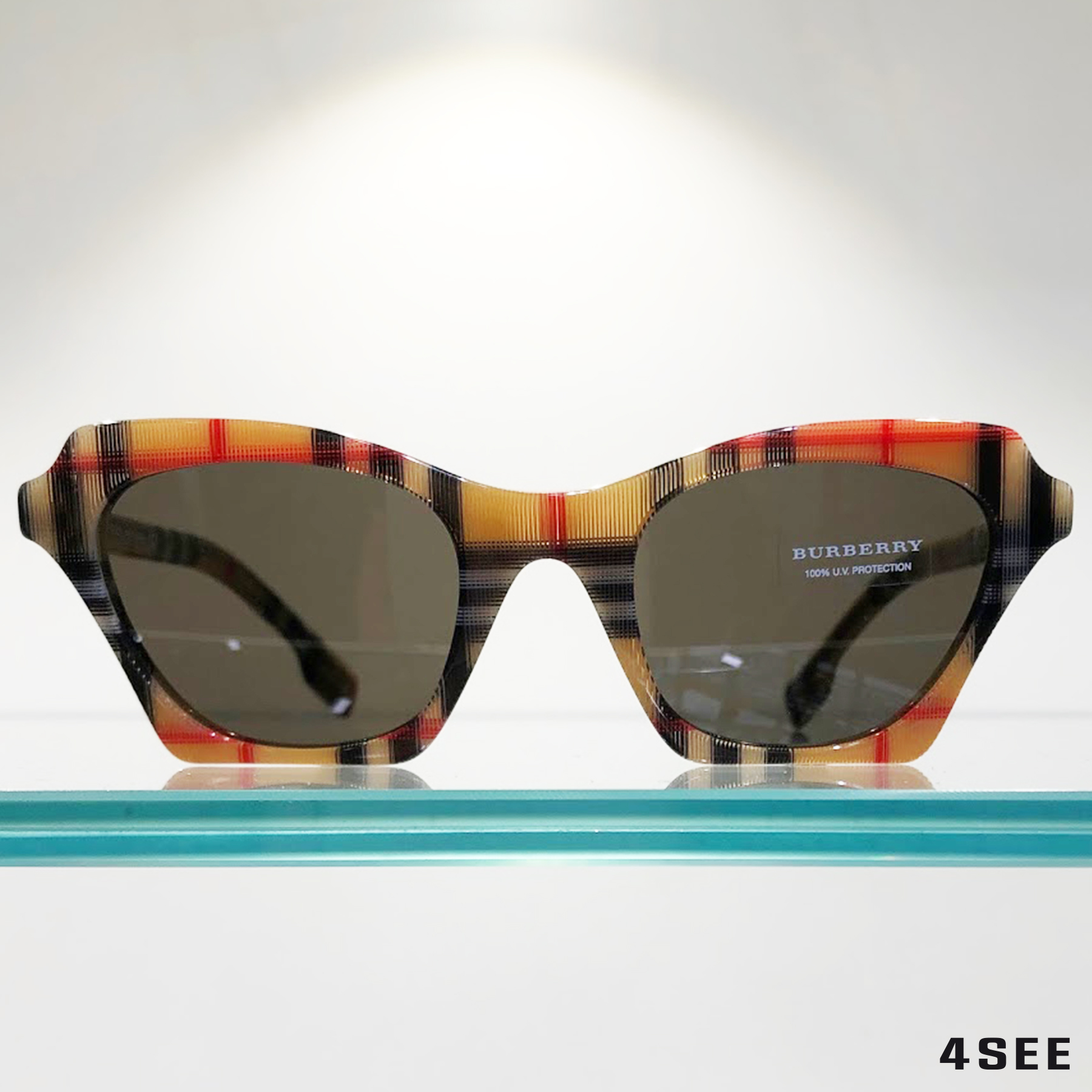 FASHION BURBERRY Vintage Check Butterfly