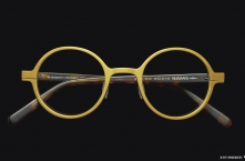 FW14 Eyewear Archive I KILSGAARD MODEL 55.1 Aluminum-Titanium Acetate Gold