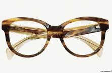 FW14 Eyewear Archive I JIL SANDER JS2722 Striped Brown