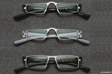 FW14 Eyewear Archive I O. M. PORSCHE DESIGN READING TOOL P'8801 Silver-Black / Silver-White, U. PORSCHE DESIGN READING TOOL P'8802 Titan Mat-Black Mat