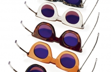 FE14 4SEE Eyewear Archive I HAIK w/ KAIBOSH TWO-WAY Signal/Coral-Cola, Mother Of Pearl/Honey Turtle, Blond Turtle/Black, Burgundy/Tortoise, Blue/White Leopard