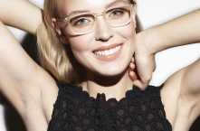 4SEE Eyewear Archive II SS15 BARTON PERREIRA CAGNEY Matte Champagne / Matte Torasel