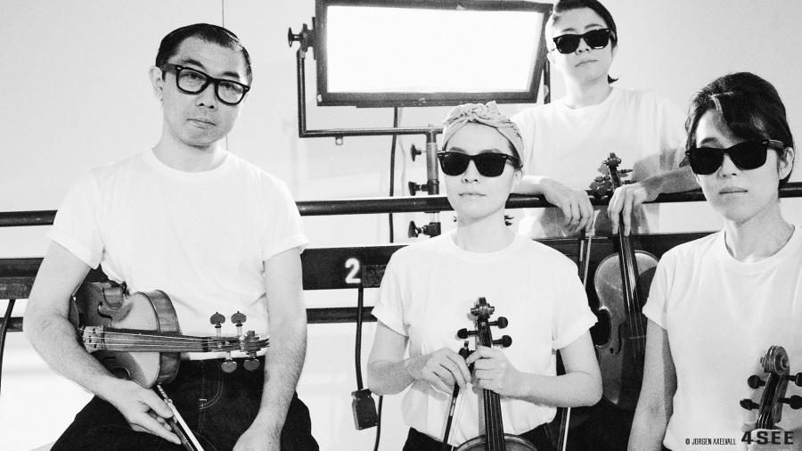 Dan Nakazawa used glasses by RAY-BAN RB 5121F 2000 and Miki Hayashi, Saori Sato, Kumi Mizukami used sunglasses by RAY-BAN RB 2140-F
