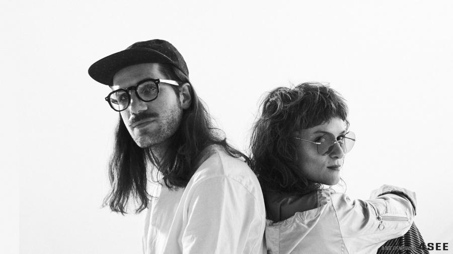4SEE Spotlight on NAUSICA - Edita Karkoschka (vocals) and Jannis Knüpfer(drums) Photography by Bert Spangemacher