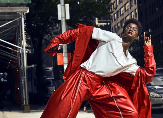 Rise Up Stand Out by Marc Baptiste for 4SEE