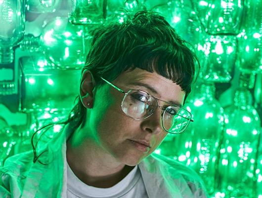 HANDSOME, Sydney artist Caitlin McGregor, Photography by Bert Spangemacher