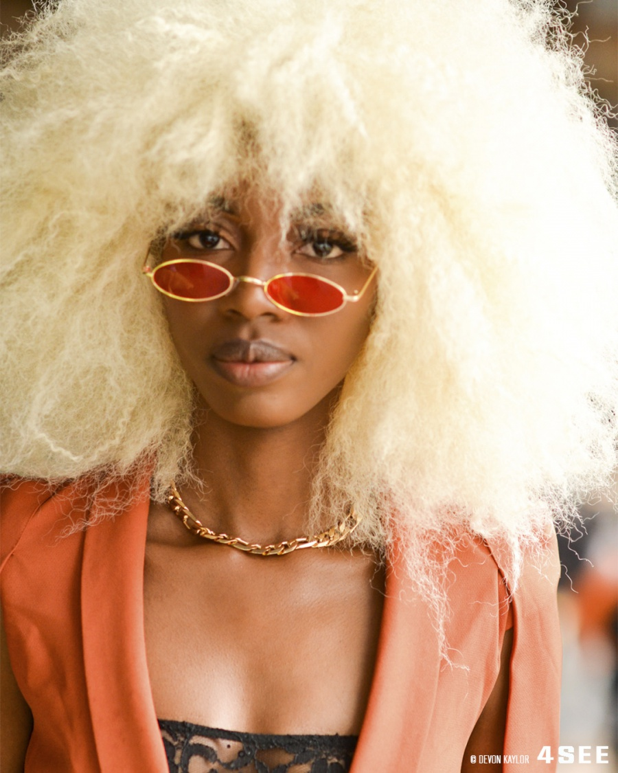 A girl in NYFWSS20, Best Eyewear Fall 2019