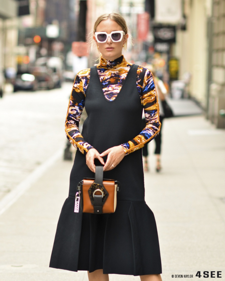 New York Fashion Week Street Styles, Coolest Eyewear, Photography by Devon Kaylor