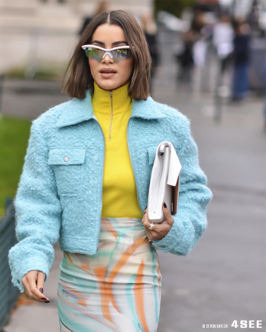 Paris Fashion Week SS20 Street Styles, Coolest Eyewear, Photography by Devon Kaylor