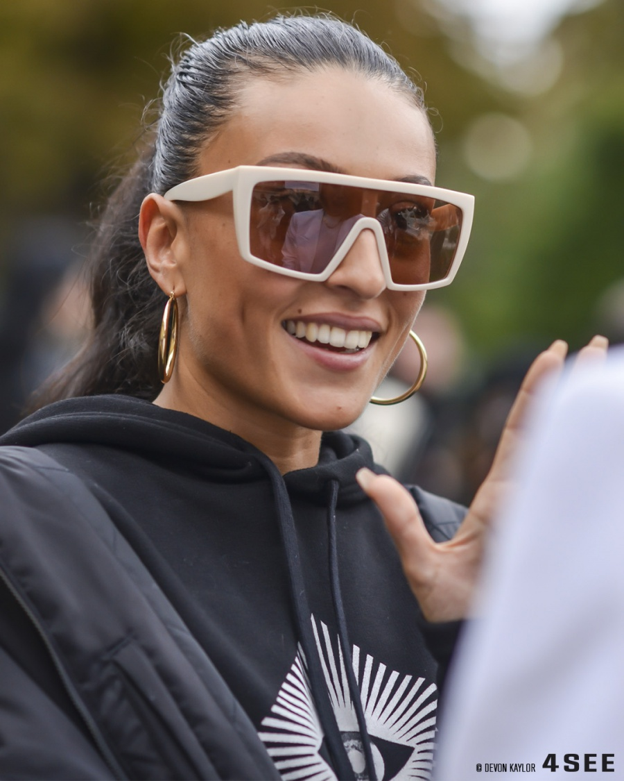Paris Fashion Week SS20 Street Styles, Coolest Eyewear, Photography by Devon Kaylor