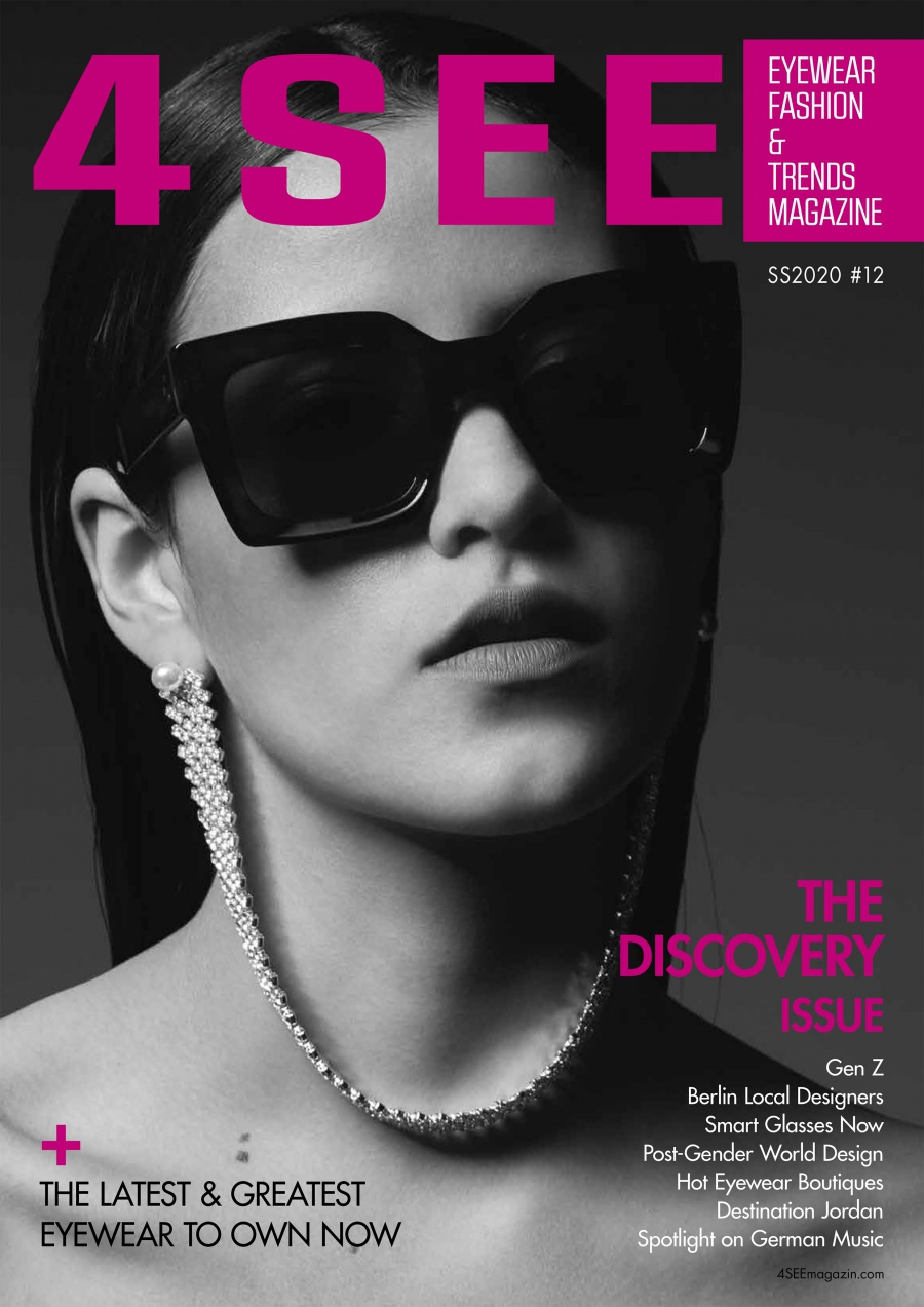 4SEE #12 Discovery Issue Cover Photography by Bert Spangemacher Eyewear by CELINE