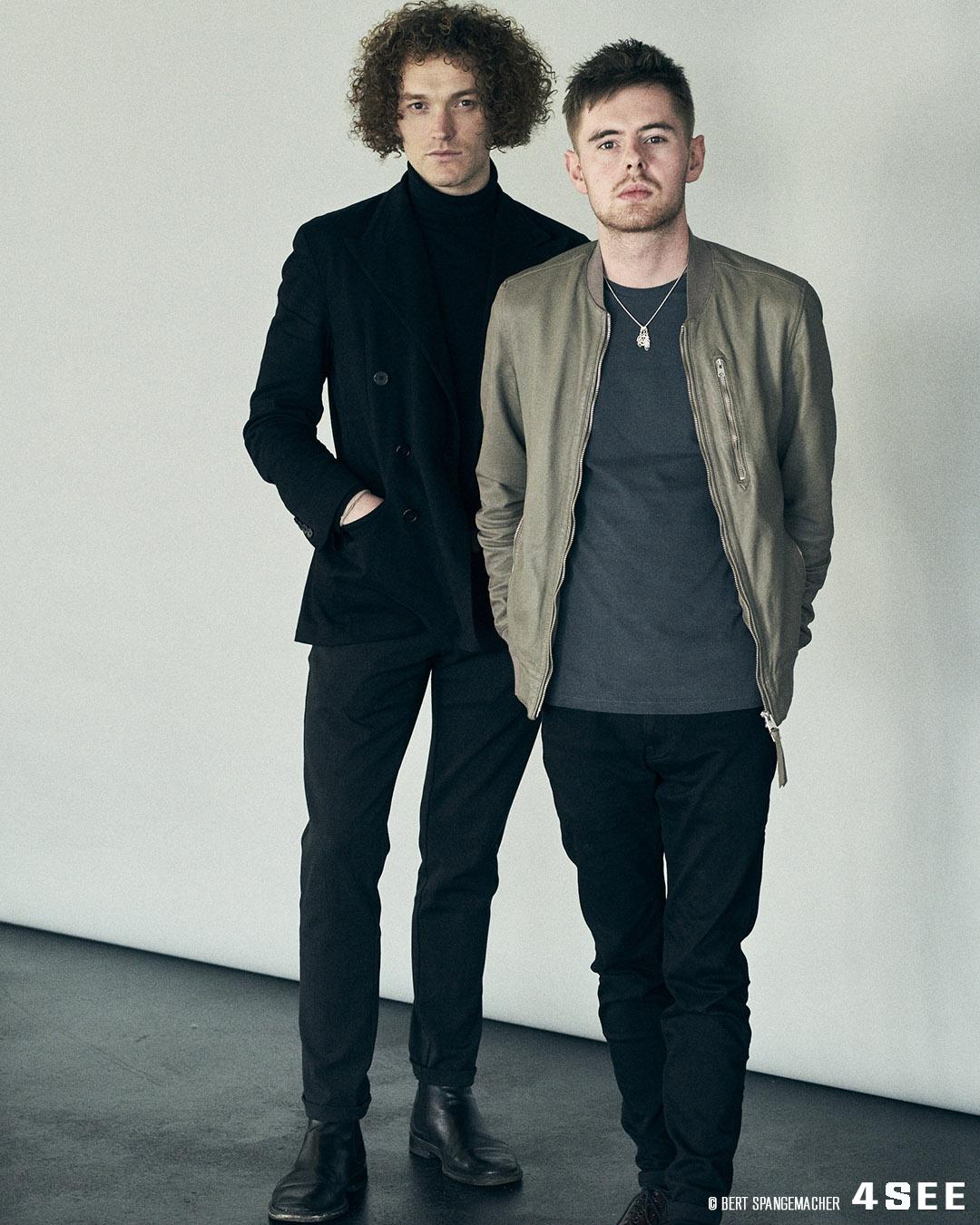 British indie Pop Duo Seafret by Bert Spangemacher