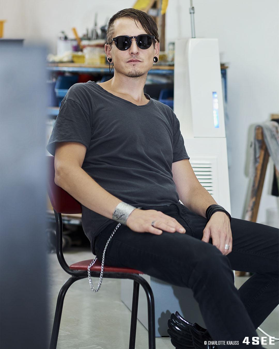 German Artist Marc von der Hocht by Charlotte Krauss for 4SEE Artist Profile
