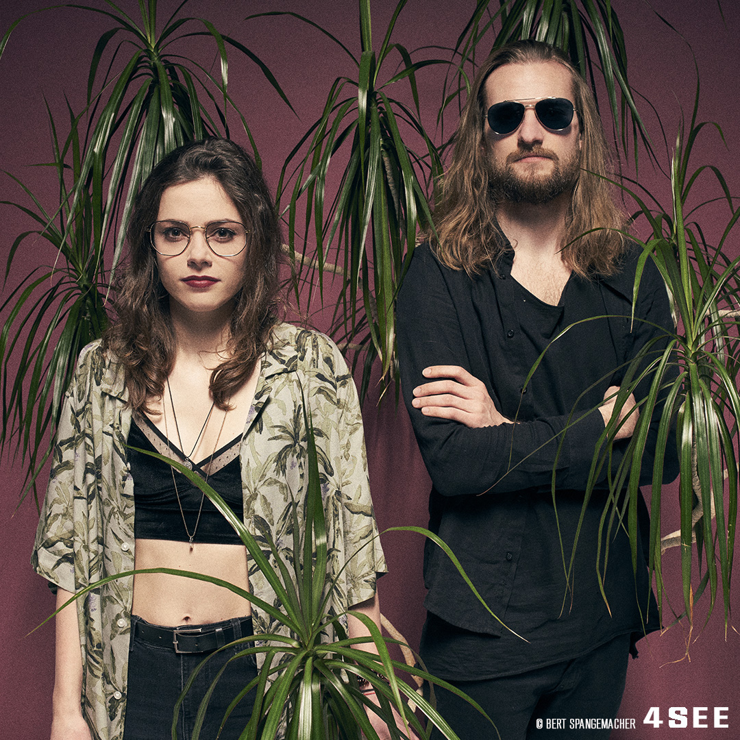 teepee, a dream pop duo from Prague, photo by Bert Spangemacher