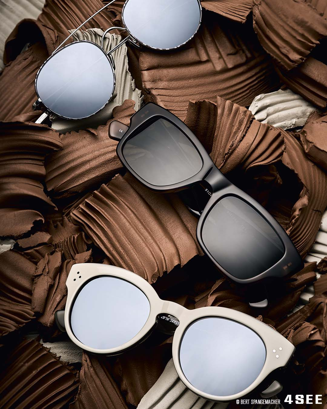4SEE Label Profiler - SALT. Sunglasses photographed by Bert Spangemacher