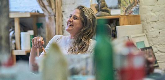 4SEE Artist Profile - Louise Thomas, photo by Bert Spangemacher