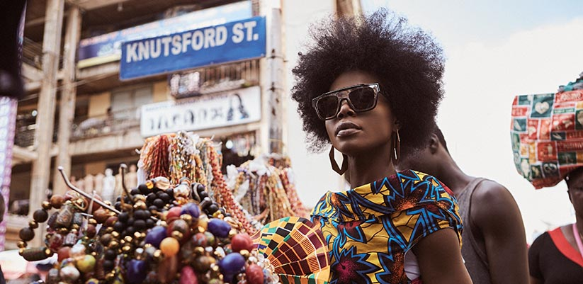 4SEE Editorial, featuring Dolce & Gabbana Sunglasses in Ghana