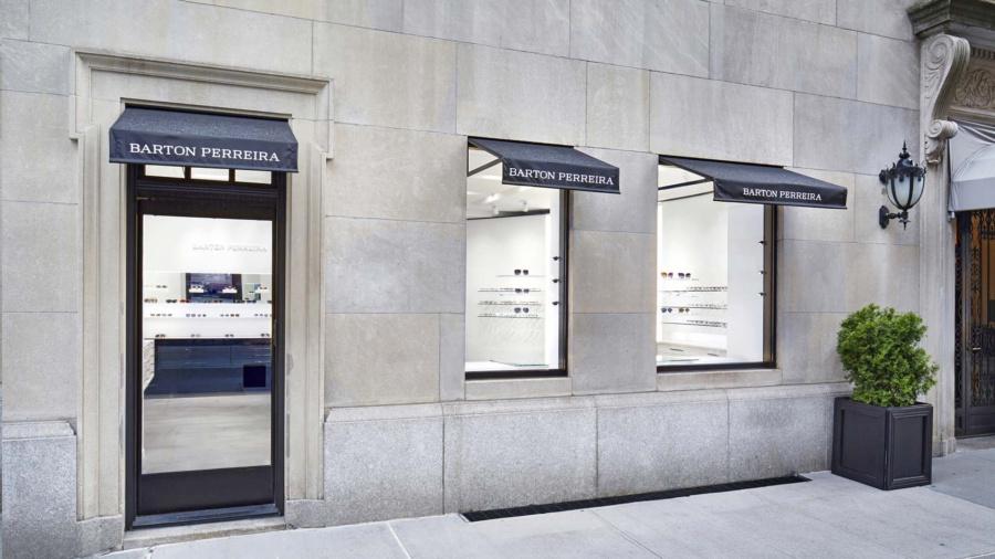Facade of Barton Perreira NYC shop