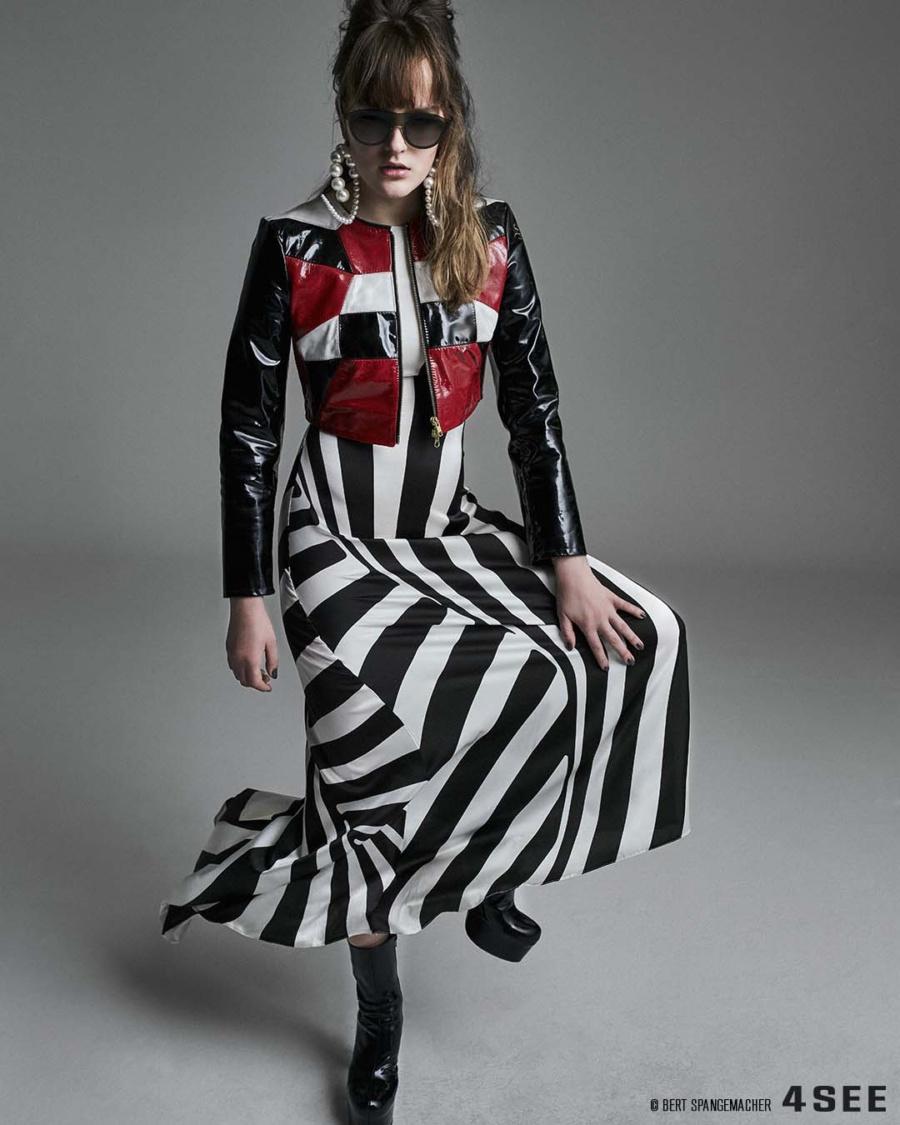 Fashion editorial featuring Thomas Hanisch, a Berlin designer featuring Lindberg sunglasses