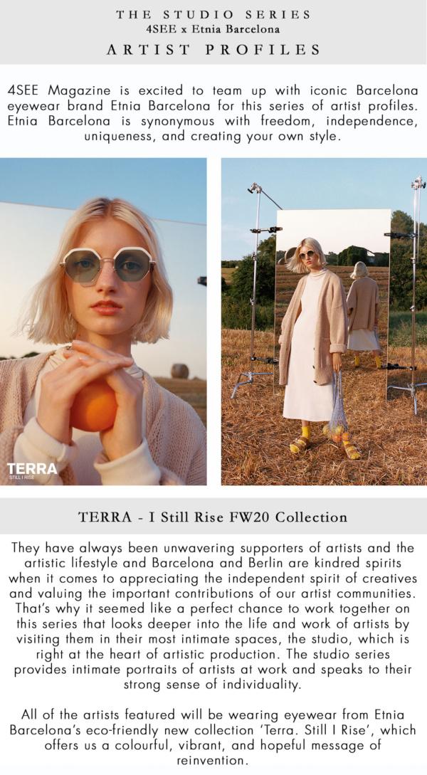 The Studio Series - 4SEE Magazine x Etnia Barcelona Artist Profiles